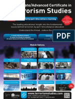 FLR2398HA101 Certificate in Terrorism Studies Prospectus