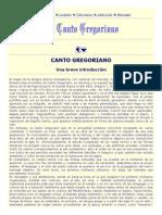1. Canto Gregoriano Introduccion