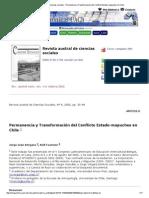 Revista austral de ciencias sociales - Permanencia y Transformación del Conflicto Estado-mapuches en Chile.pdf