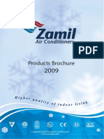 Products Brochure Zamil Air Conditioners