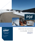 Winter Canyon Closure Study