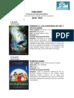 Cine Niños Junio 2014