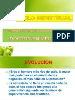 Ciclo Menstrual 2012 I 2