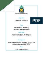 Politica de Precios y Politica Comercial_trabajo Final