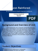 amazon rainforest presentation