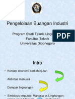 Week 1 Pengelolaan Buangan Industri Intro 2012