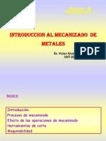 Procesos de Mecanizado Introduccion