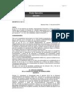 Decreto 231-14