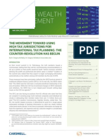 Taxes And Wealth Management May 2014
