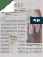 Telegraaf Schisis Marleen Hartog 31-05-2014