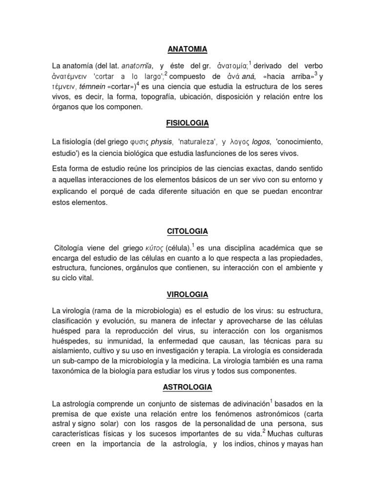 Anatomia Fisiologia Citologia Virologia