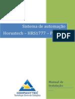 Sistema de Automação Horustech HRS1777-PST_BR