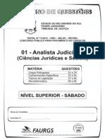 Prova Analista Judiciario 80q