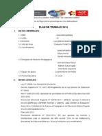 Plan de Trabajo Asesores Pedagogicos 2014 (1)