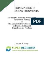 Super Decisions Tutorial 2003 AHP