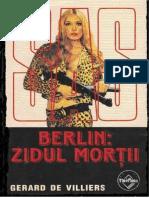 Gerard de Villiers - Berlin Zidul Mortii