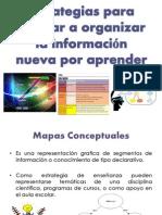Estrategias Para Ayudar a Organizar La Información Nueva
