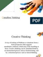 Creative Thinjkng