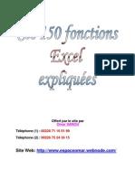150 Fonctions Excel Expliquées