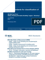 Joe Martin Classification RICS Classification of Costs