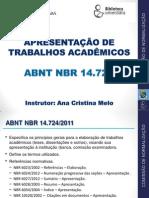 Guia de Normalização de Tabalhos Acadêmicos-ufc
