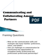 communicating and collaborating
