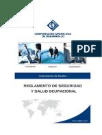 Reglamento de Seguridad y Salud en El Trabajo - Grupo CAD
