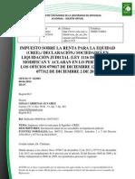Doc. 645 impuesto sobre la renta para la equidad declaración sociedades en liquidación judicial .pdf