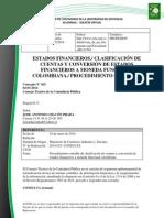 Doc. 649 estados financieros clasificación de cuentas y conversión de estados financieros a moneda funcional colombiana procedimiento contable.pdf