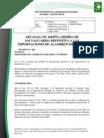 Doc. 650 aduanas se adopta medida de salvaguardia definitiva a las importaciones de alambrón de acero..pdf