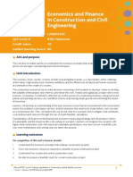 Unit 11 Economics and Finance in Construction and Civil Engineering