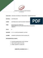 Investigacion Formativa - Canares Espinoza Esther Guadalupe