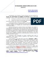 Terminologia de Soldagem - Analise Critica Da N-1438