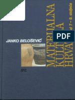 66962225 Janko Belosevic Materijalna Kultura Hrvata Od 7 Do 9 Stoljeca