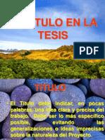 Diapositivas 1 EL TITULO
