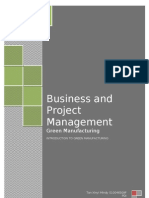 Business and Project Management