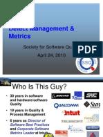 Defect Metrics