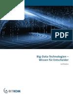 BITKOM Leitfaden Big-Data-Technologien-Wissen Fuer Entscheider Febr 2014