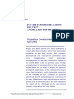 Policy Paper - Future Business Relationship Angola and South Africa