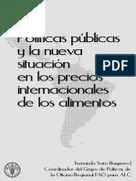 Documento Fao 22013 Crise Dos Precos Dos Alimentos e Politicas Publicas