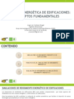 Diapositivas de  Simulación energética