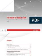 The Value of Social Data