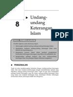 Topik 8 Undang Undang Keterangan Islam