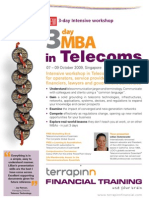 3-Day MBA in Telecoms Singapore
