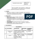 PR-HSEQ-002 Procedimiento Revision Gerencial