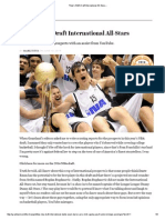 Titus's NBA Draft International All-Stars