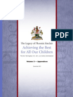 The Legacy of Phoenix Sinclair - Achieving the Best for All Our Children - Volume 3