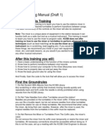 Mixer Training Manual