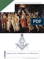 Solsticios - Equinoccios y Masoneria