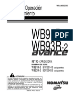RETROEXCAVADORA Manual de Operacion y Mantenimiento